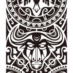 Maori sleeve tattoo 150x150