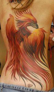 Phoenix Tattoo large 500x849 177x300