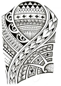 Polynesian tattoo designs at their best 212x300