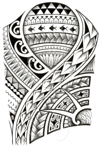 Polynesian tattoo designs at their best 212x300
