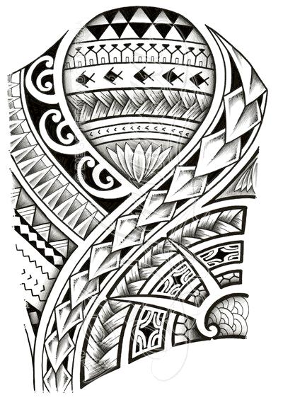 Polynesian tattoo designs at their best - tatuajes maories