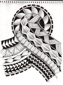 Samoa cultural tattoo 222x300