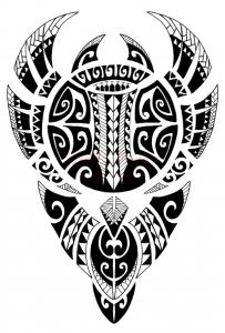 Samoan and Polynesian tattoo designs 203x300