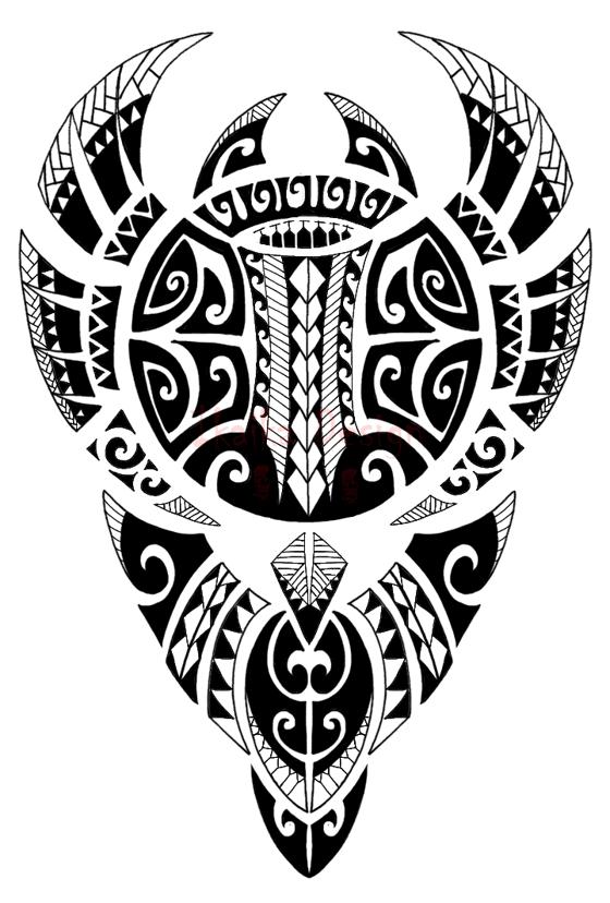 Samoan and Polynesian tattoo designs - tatuajes maories
