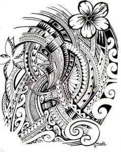 Tattoo symbols of Polynesia 238x300