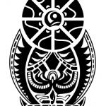 The black symbol 150x150