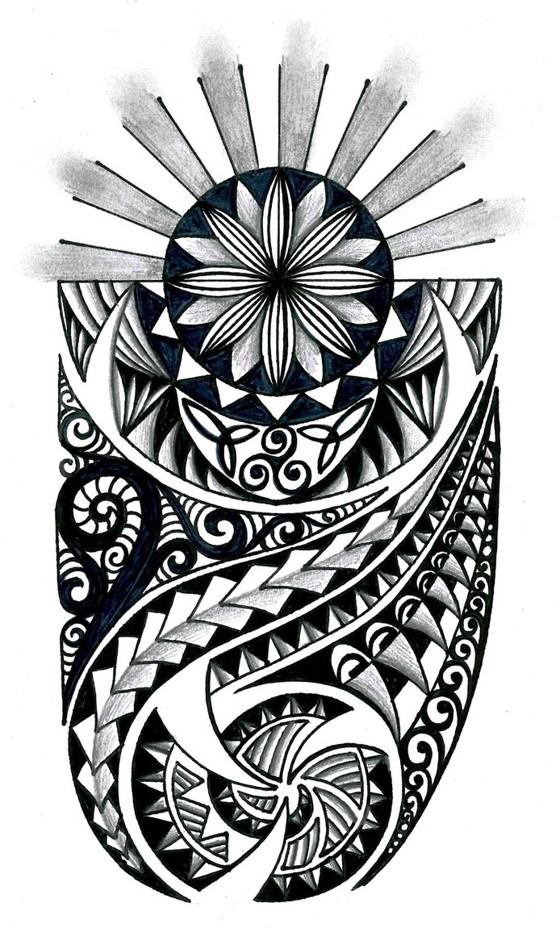 Tribal with celtic elements - tatuajes maories