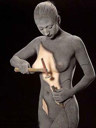 arte corporal inicial