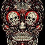 bocetos disenos tatuajes calaveras mexicanas tattoo 1 150x150
