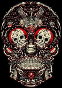 bocetos disenos tatuajes calaveras mexicanas tattoo 1 210x300