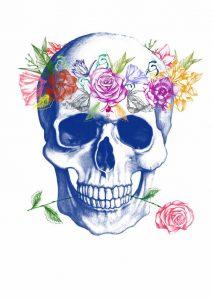 bocetos disenos tatuajes calaveras mexicanas tattoo 10 212x300
