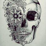 bocetos disenos tatuajes calaveras mexicanas tattoo 2 150x150