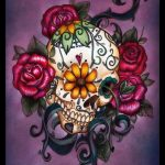 bocetos disenos tatuajes calaveras mexicanas tattoo 7 150x150