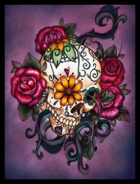 bocetos disenos tatuajes calaveras mexicanas tattoo 7 - calaveras mexicanas