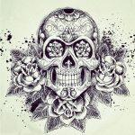 bocetos disenos tatuajes calaveras mexicanas tattoo 8 150x150