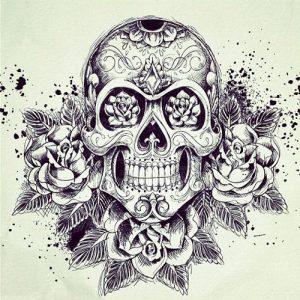 bocetos disenos tatuajes calaveras mexicanas tattoo 8 300x300