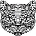 diseño tatuajes de gatos dibujos tattoo cat 1 150x150