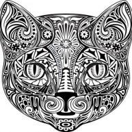 diseno-tatuajes-de-gatos-dibujos-tattoo-cat-1