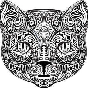 diseño tatuajes de gatos dibujos tattoo cat 1 300x300
