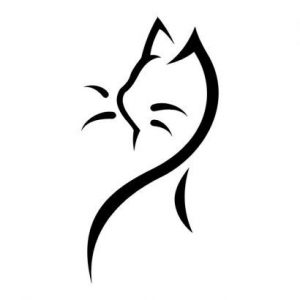 diseño tatuajes de gatos dibujos tattoo cat 11 300x300