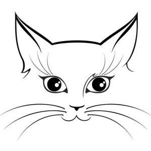 diseño tatuajes de gatos dibujos tattoo cat 19 300x300