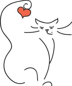 diseño tatuajes de gatos dibujos tattoo cat 21 251x300