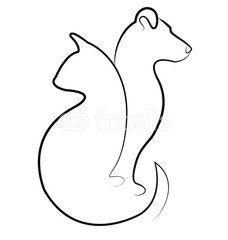 diseño tatuajes de gatos dibujos tattoo cat 22