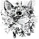 diseño tatuajes de gatos dibujos tattoo cat 23 150x150