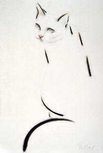diseño tatuajes de gatos dibujos tattoo cat 25 202x300