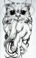 diseno-tatuajes-de-gatos-dibujos-tattoo-cat-3