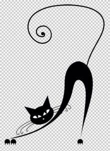 diseño tatuajes de gatos dibujos tattoo cat 7 220x300