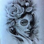 disenos bocetos tatuajes catrinas 1 150x150