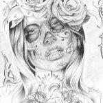 disenos bocetos tatuajes catrinas 3 150x150