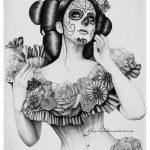 disenos bocetos tatuajes catrinas 8 150x150
