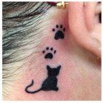 huellas de gato tattoo tatuajes 9 150x150