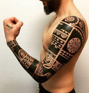 maori tattoo polinesios tatuajes 12 287x300