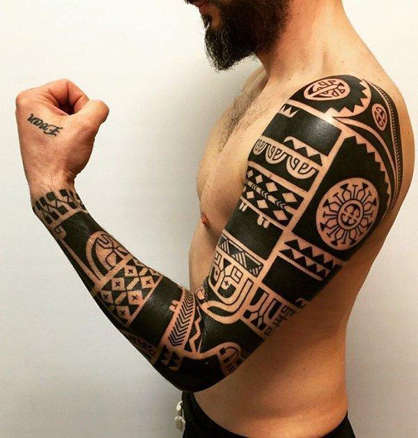 maori tattoo polinesios tatuajes 12 - tatuajes maories