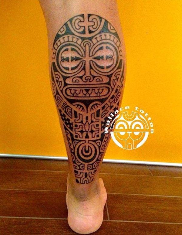 maori tattoo polinesios tatuajes 14 - tatuajes maories