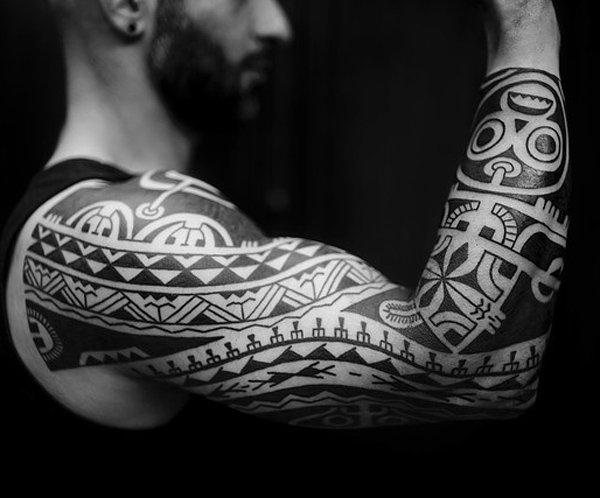 maori tattoo polinesios tatuajes 24 - tatuajes maories