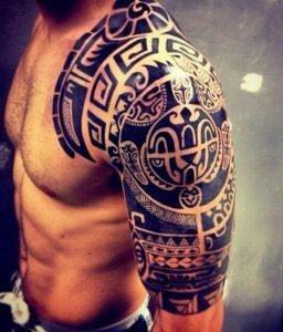 maori tattoo polinesios tatuajes 32 256x300