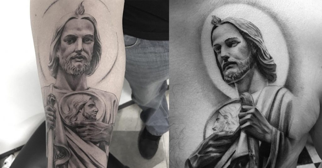 Tattoos of San Judas Tadeo: History, meanings and more