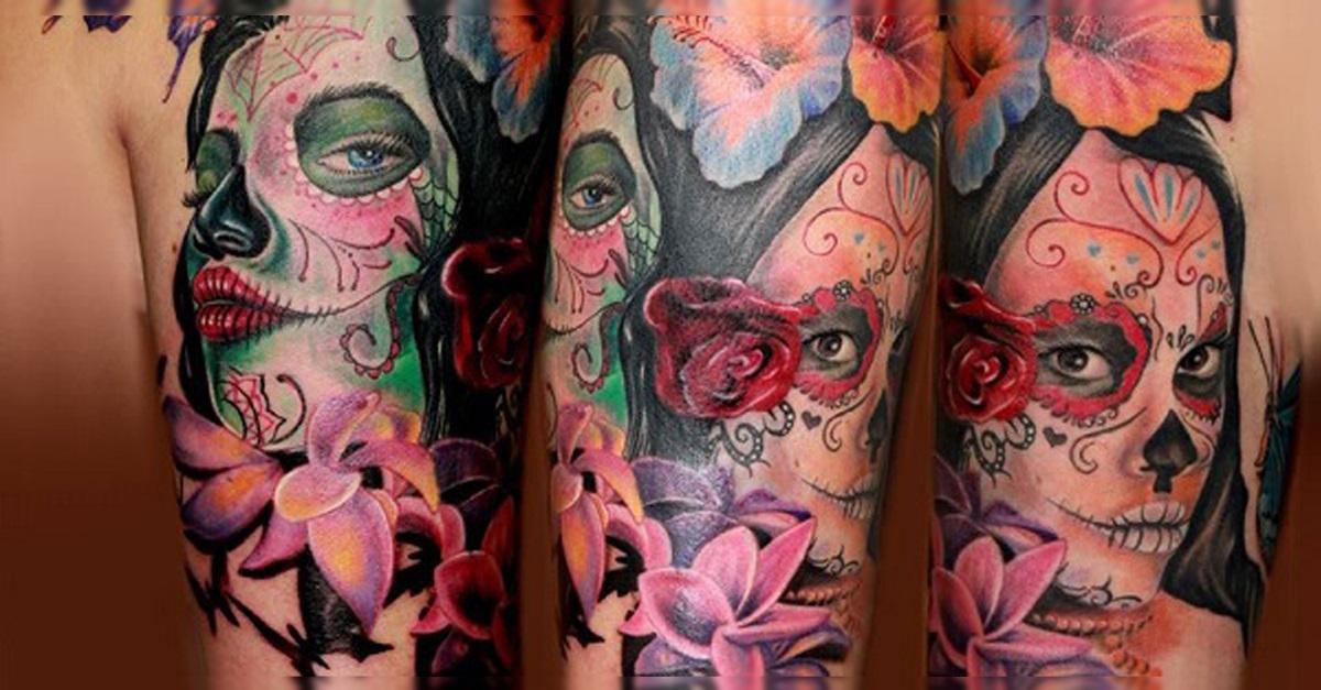 portada tatuajes catrinas