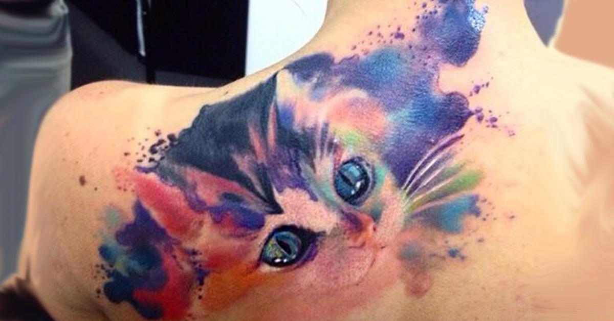 portada tatuajhes de gatos