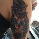 tattoo buho tatuajes nueva escuela 10 150x150