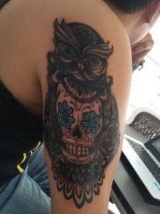 tattoo buho tatuajes nueva escuela 10 225x300