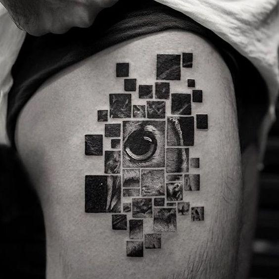 tattoo buho tatuajes nueva escuela 14 - tatuajes de búhos
