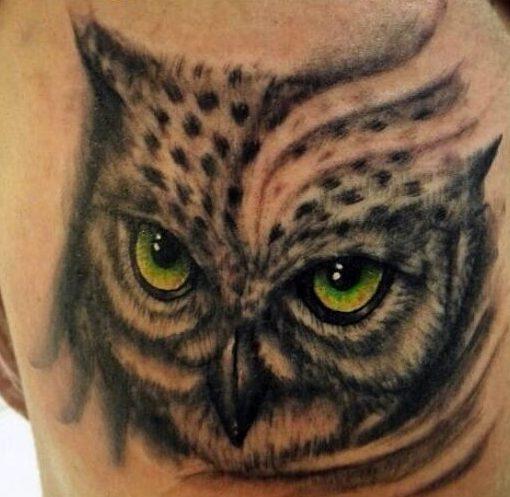 tattoo buho tatuajes nueva escuela 16 e1487179604610 - tatuajes de búhos