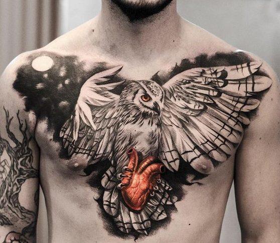 tattoo buho tatuajes nueva escuela 3 e1487110024572 - tatuajes de búhos