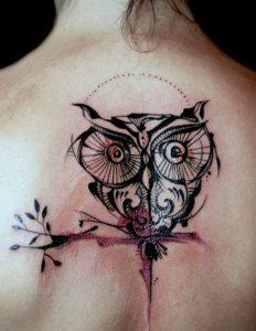 tattoo buho tatuajes nueva escuela 5 e1487109946397 232x300