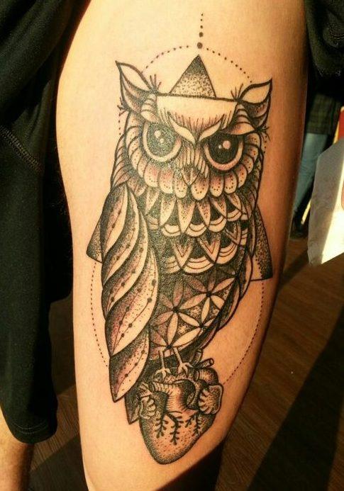 tattoo buho tatuajes nueva escuela 6 e1487109908250 - tatuajes de búhos